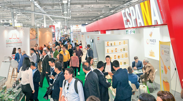 250 international exhibitors from 25 countries!