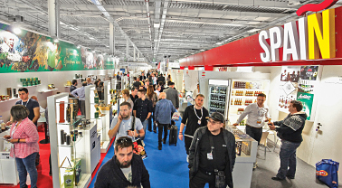 250 international exhibitors from 33 countries!
