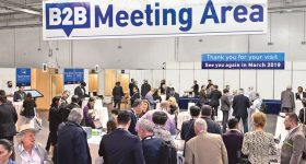 900 Hosted Buyers, 3.500 international visitors