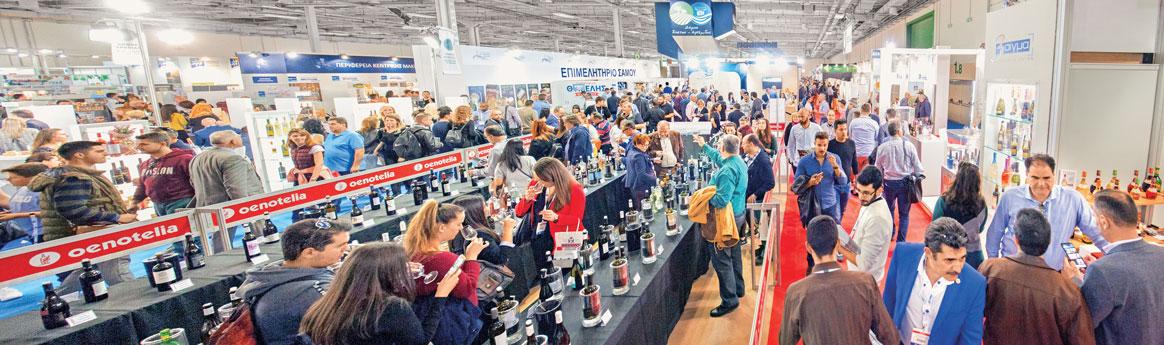 180 exhibitors & 150 wine importers at OENOTELIA 2022